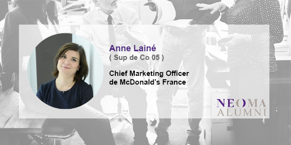 Anne Lainé est nommée chief marketing officer de McDonald's France