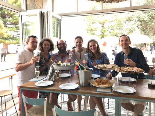 Fish & Chips & Oysters in Oz - Traditionnel christmas family lunch