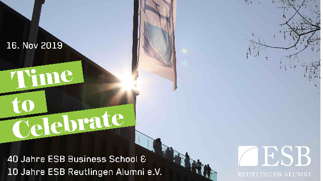 NEOMA ESB Alumni-Wochenende 2019: Time to Celebrate!